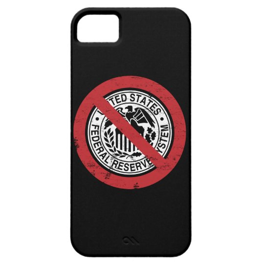 Termine al libertario de FED Federal Reserve Funda Para iPhone SE/5/5s