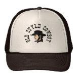 Termine con el gorra negro: Vaquero del viejo esti