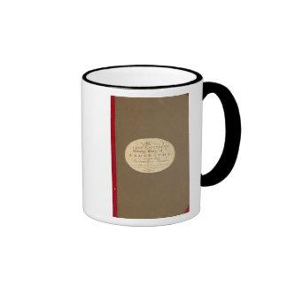 Termine el curso de la geografía tazas de café