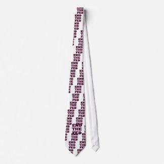 Termine el FED Corbata Personalizada