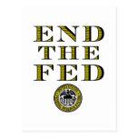 Termine el FED Federal Reserve Postal