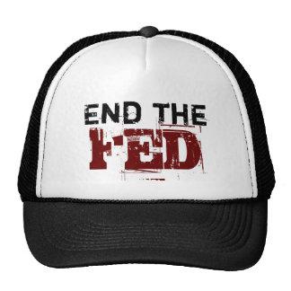 Termine el FED Gorras