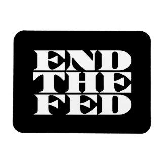 Termine el FED Imán Rectangular