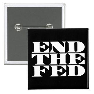 Termine el FED Pin Cuadrado