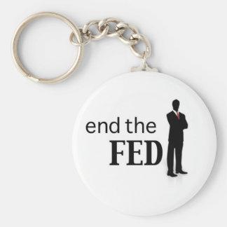 Termine el llavero de FED