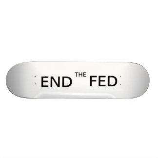 Termine el monopatín de FED