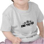 Termine el negro de FED 2 Camisetas