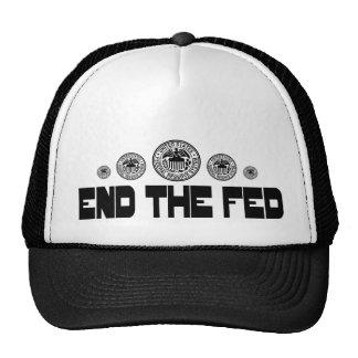 Termine el negro de FED 2 Gorra