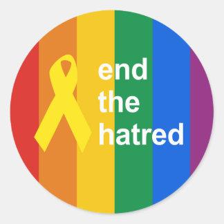 termine el odio etiquetas