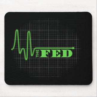 Termine el plano de FED alineado Mousepad