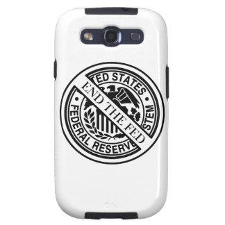 Termine el sistema de FED Federal Reserve Galaxy S3 Fundas