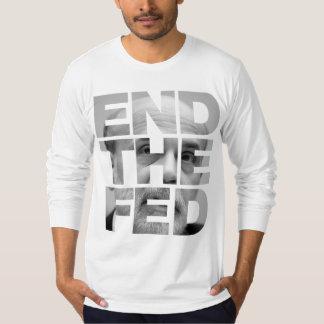 Termine la camisa de FED Bernanke
