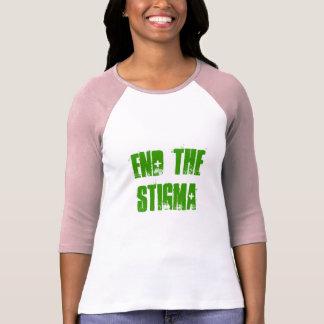 TERMINE la camiseta del ESTIGMA 3/4 Polera