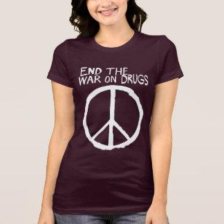 Termine la guerra fallada en las drogas camisetas