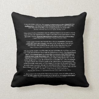 TERMINE las citas y las citaciones 1 de FED Cojín Decorativo