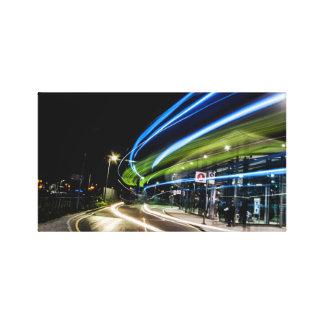 Término de autobuses del norte de Greenwich en la Lona Envuelta Para Galerias