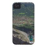Término de Mittenwald - de Karwendelbahn Case-Mate iPhone 4 Protector