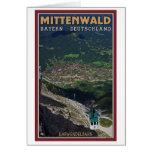 Término de Mittenwald - de Karwendelbahn Felicitacion