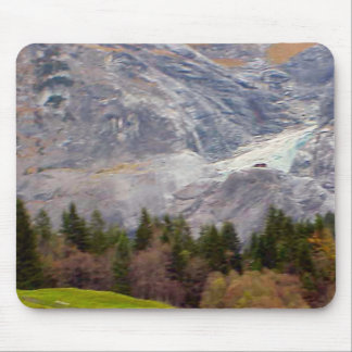 Término del glaciar tapetes de ratón