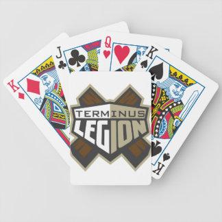 Terminus Legion  Logo Bicycle Playing Cards