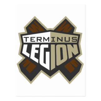Terminus Legion  Logo Postcard