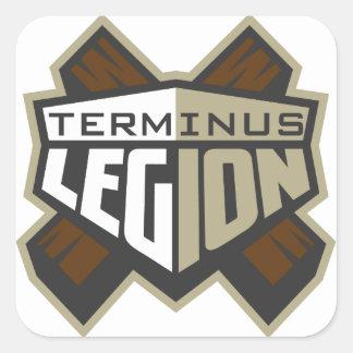 Terminus Legion Square Sticker Set