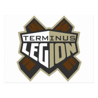 Terminus Legion Standard Logo Postcard