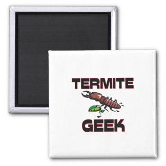 Termite Geek 2 Inch Square Magnet