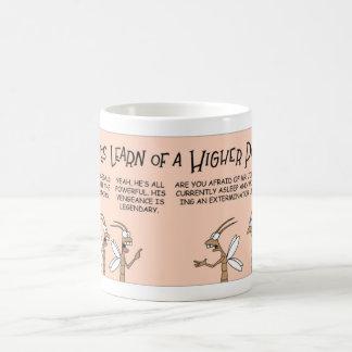 Termite learns of higher power coffee mug