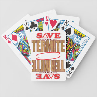 Termite Save Bicycle Playing Cards