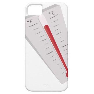 Termómetro caliente iPhone 5 fundas