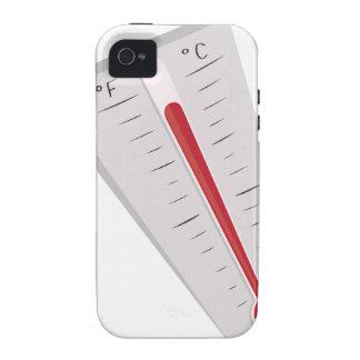 Termómetro caliente Case-Mate iPhone 4 carcasa