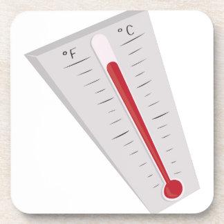 Termómetro caliente posavasos