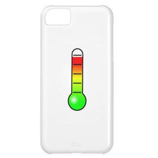 Termómetro de la temperatura funda para iPhone 5C