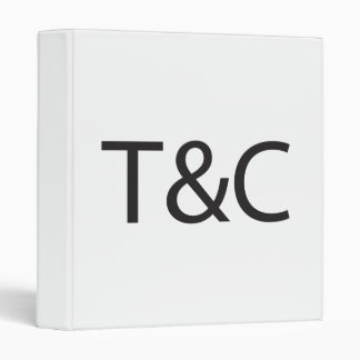 Terms Conditions ai Vinyl Binder