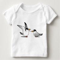 Least Tern Love Baby Fine Jersey T-Shirt
