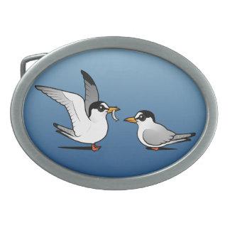 Tern Love Oval Belt Buckle