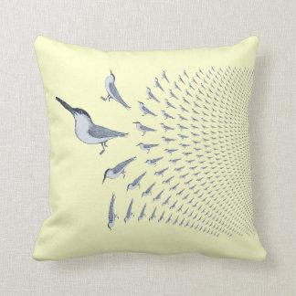 Terns In Flght - Throw Pilow Throw Pillow