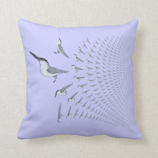 Terns In Flight Flying West - Throw Pillow