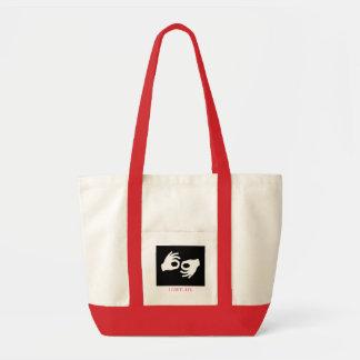 terp, I LOVE ASL Tote Bag