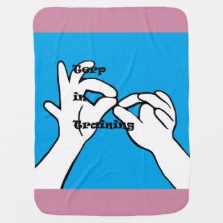 Terp in Training Receiving Blanket