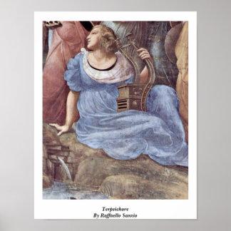 Terpsichore By Raffaello Sanzio Poster