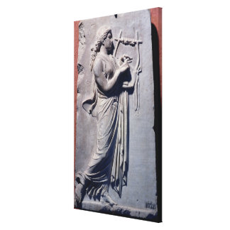 Terpsichore, the muse of dancing and song canvas print