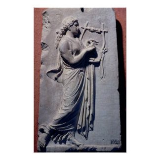 Terpsichore, the muse of dancing and song poster