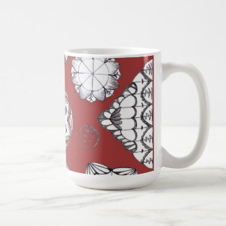 Terra Cotta Doodle Mug