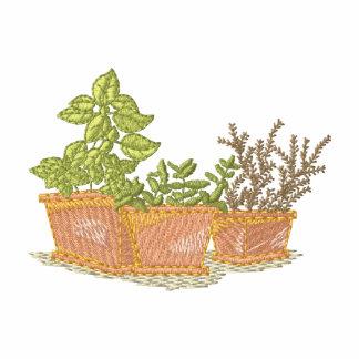 Terra Cotta Pots with Herbs