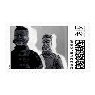 terra cotta soldiers postage stamp