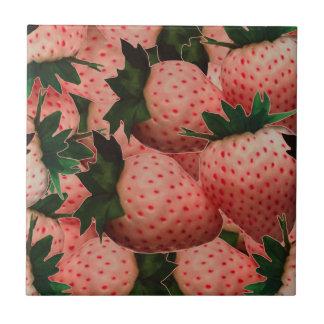 Terra Cotta Strawberries Tile