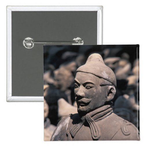 Terra Cotta warriors in Emperor Qin Shihuang's 2 Buttons