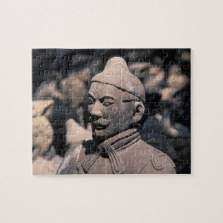 Terra Cotta warriors in Emperor Qin Shihuang's 2 Jigsaw Puzzle